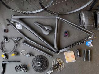 Sykkelbygg fra komponenter kjøpte hos Trondheim Sykkelservice