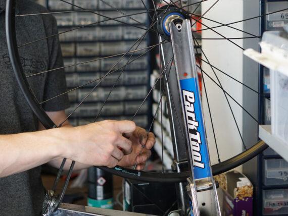 hjul bygg Trondheim Sykkelservice