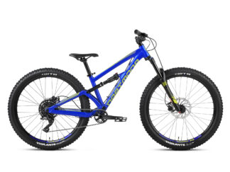 "Dartmoor Norge Blackbird Jr 26"" alu fulldempet barnesykkel matt space blue"