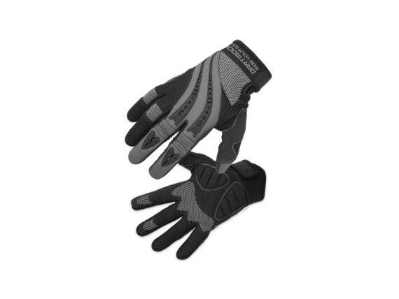 Dartmoor Snake hansker graphite-black