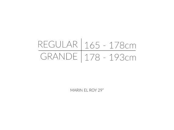 MARIN EL ROY størrelsesoversikt