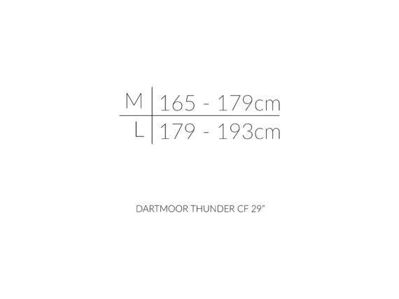 DARTMOOR THUNDER CF 29 karbon ramme