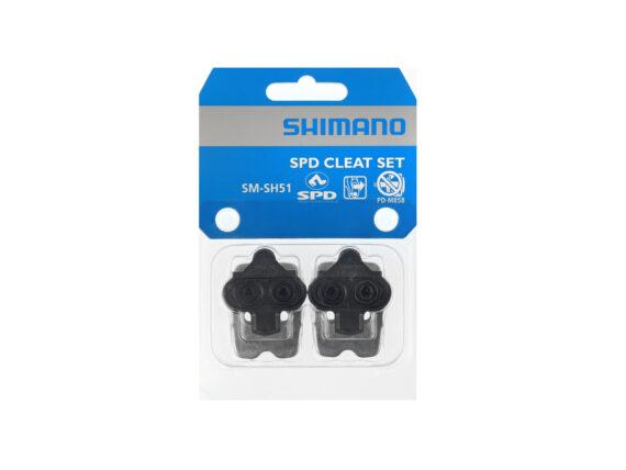 Shimano SM-SH51 klosser (cleats) med festeplate