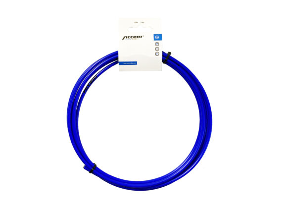 Accent girstrømpe blue fluo