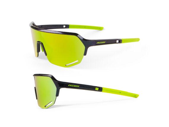 Accent Hero briller ultraviolet - yellow