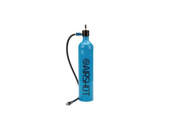 Airshot pumpe til tubeless dekk